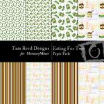 Eating For Two Paper Pack-$3.00 (Tara Reed Designs)