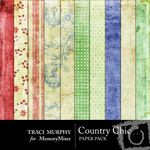 Country Chic Paper Pack-$3.99 (Traci Murphy)