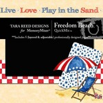 Freedom Beach QuickMix-$1.99 (Tara Reed Designs)