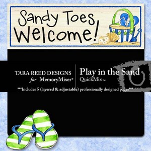 Play in the sand medium