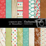 Enchanted Forest Paper Pack-$3.99 (Carolyn Kite)