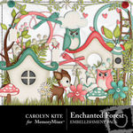 Enchanted Forest Embellishment Pack-$1.80 (Carolyn Kite)
