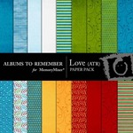 Love ATR Paper Pack-$3.99 (Albums to Remember)