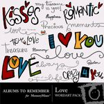 Love ATR WordArt Pack-$1.99 (Albums to Remember)
