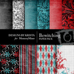 Bewitching Paper Pack-$3.99 (Designs by Krista)
