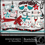 Bewitching Embellishment Pack-$2.99 (Designs by Krista)