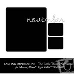 The Little Things November Template Freebie-$0.00 (Lasting Impressions)