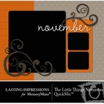 The Little Things November QuickMix-$3.00 (Lasting Impressions)
