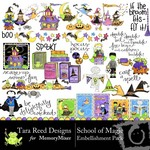 School of Magic Embellishment Pack-$3.00 (Tara Reed Designs)
