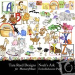 Noahs Ark Embellishment Pack-$3.49 (Tara Reed Designs)