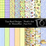 Noahs Ark Paper Pack-$2.00 (Tara Reed Designs)