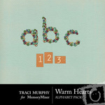 Warm Hearts Alphabet Pack-$0.99 (Traci Murphy)