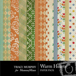 Warm Hearts Paper Pack-$3.99 (Traci Murphy)