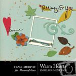 Warm Hearts Embellishment Pack-$1.99 (Traci Murphy)