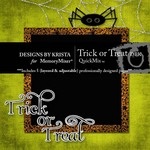 Trick or Treat DBK QuickMix-$2.99 (Designs by Krista)
