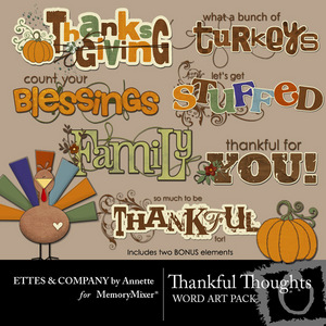 Thankfulthoughtscollage wordartpack medium