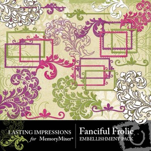 Fanciful frolic emb 1 medium