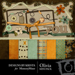 Olivia Mini Pack-$3.99 (Designs by Krista)