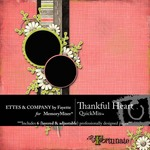Thankful Heart QuickMix-$4.99 (Ettes and Company by Fayette)