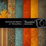 Thankful Paper Pack-$3.99 (Designs by Krista)