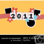 2011 ATR Calendar QuickMix-$6.99 (Albums to Remember)