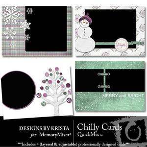 Chilly cards medium