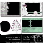 Chilly Card Pack QuickMix-$2.50 (Designs by Krista)