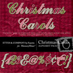 Christmas Carols Alphabet Pack-$2.99 (Ettes and Company by Fayette)