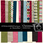 Christmas Carols Paper Pack-$4.50 (Ettes and Company by Fayette)