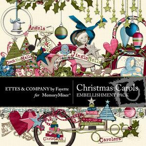 Christmascarolsembellishments medium