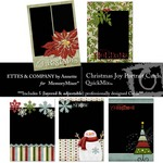 Christmas Joy Cards QuickMix-$2.99 (Ettes and Company by Annette)