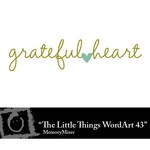 The Little Things Freebie WordArt 43-$0.00 (Lasting Impressions)