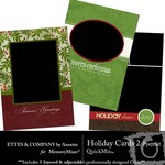Holiday Portrait Cards QuickMix 2-$1.25 (Ettes and Company by Annette)
