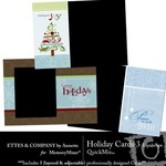 Holiday Landscape Cards QuickMix 3-$2.50 (Ettes and Company by Annette)