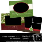 Holiday Landscape Cards QuickMix 2-$2.50 (Ettes and Company by Annette)