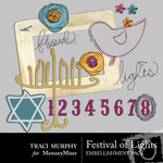 Festival of Lights Embellishment Pack-$1.99 (Traci Murphy)