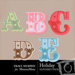 Holiday Alphabet Pack-$0.99 (Traci Murphy)