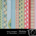 Holiday Paper Pack-$3.50 (Traci Murphy)