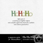 HoHoHo Sparkly Alphabet Pack-$1.99 (Carolyn Kite)