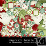 HoHoHo Embellishment Pack-$3.99 (Carolyn Kite)
