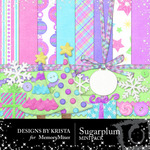 Sugar Plum Mini Pack-$3.99 (Designs by Krista)