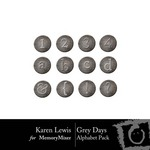 Grey Days Alphabet Pack-$0.99 (Karen Lewis)