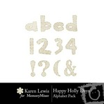 Happy Holly Days Alphabet Pack-$1.00 (Karen Lewis)