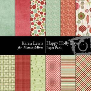 Happy holly days pp medium