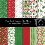 Be Merry Paper Pack-$3.99 (Tara Reed Designs)
