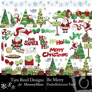 Be merry emb medium
