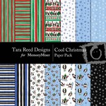 Cool Christmas Paper Pack-$3.99 (Tara Reed Designs)