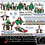 Cool Christmas Embellishment Pack-$3.00 (Tara Reed Designs)