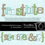 FrostBite Alphabet Pack-$2.50 (Ettes and Company by Fayette)