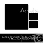 The Little Things December Template Freebie-$0.00 (Lasting Impressions)